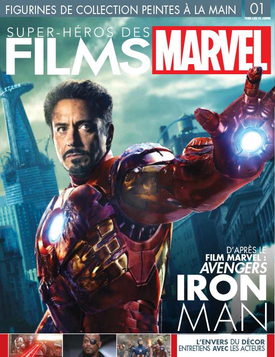 N° 1 Figurines super héros des films Marvel  Lancement  L' encyclo des N° 1