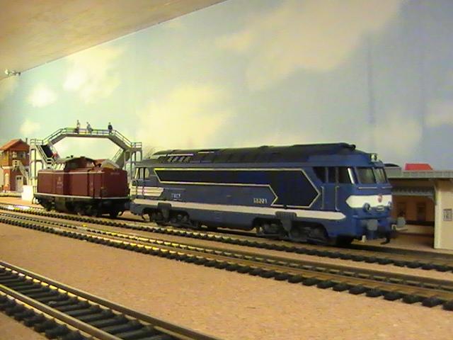 Réseau Moulisard II - Session Fleischmann - Ma collection de locomotives.