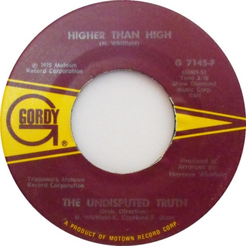 1975 : Single SP Gordy Records G 7145F / G 7145F Promo [ US ]