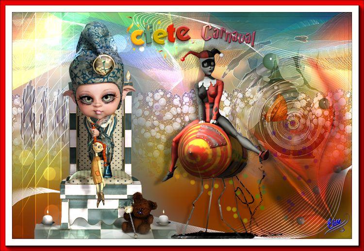 La reine du carnaval   de Renéegraphisme