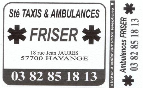 AMBULANCES FRISER
