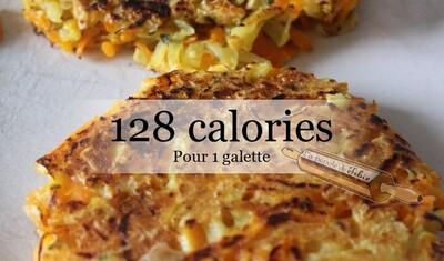 Galettes  Butternut & pommes de terre