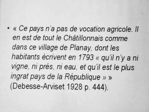 L'évolution de la structure sociale du Châtillonnais au XXème siècle, une conférence de Gilles Laferte