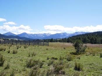 Départ du col de la Quillanne, vue vers le Sud