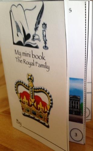 English mini books
