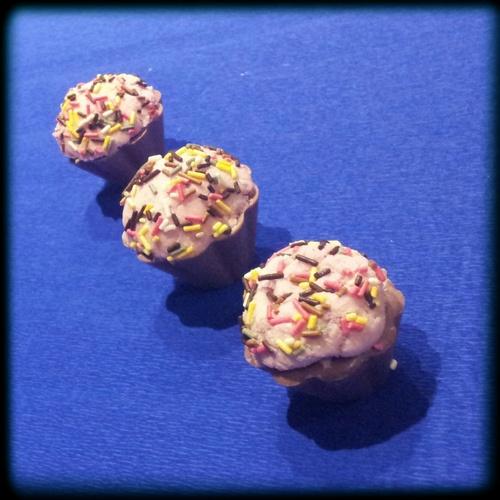 Mes premiers Savons Cupcakes (Melt & Pour) <3