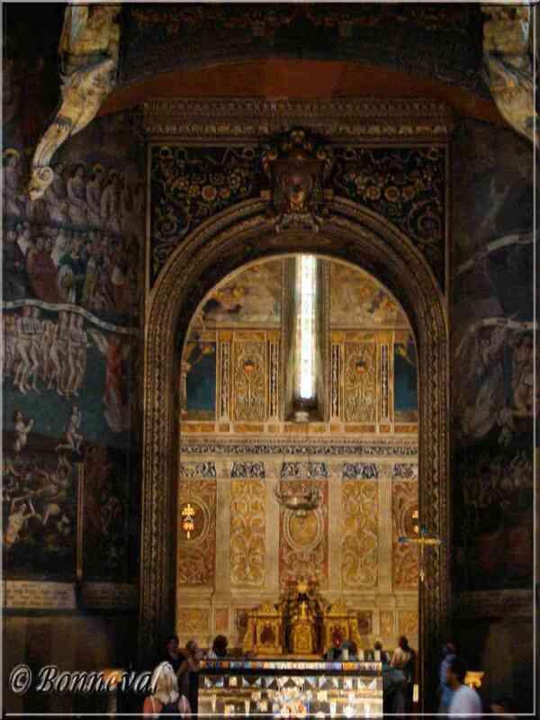 La Cathédrale Sainte-Cécile Chapelle Saint-Clair