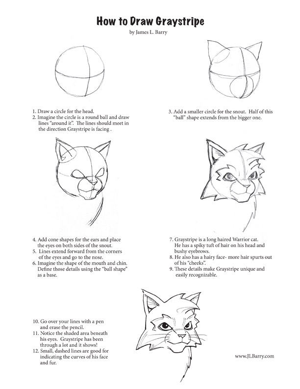 How to draw Graystripe