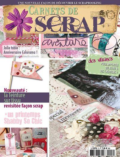 """Publication dans """"Carnet de Scrap n°17""""."""