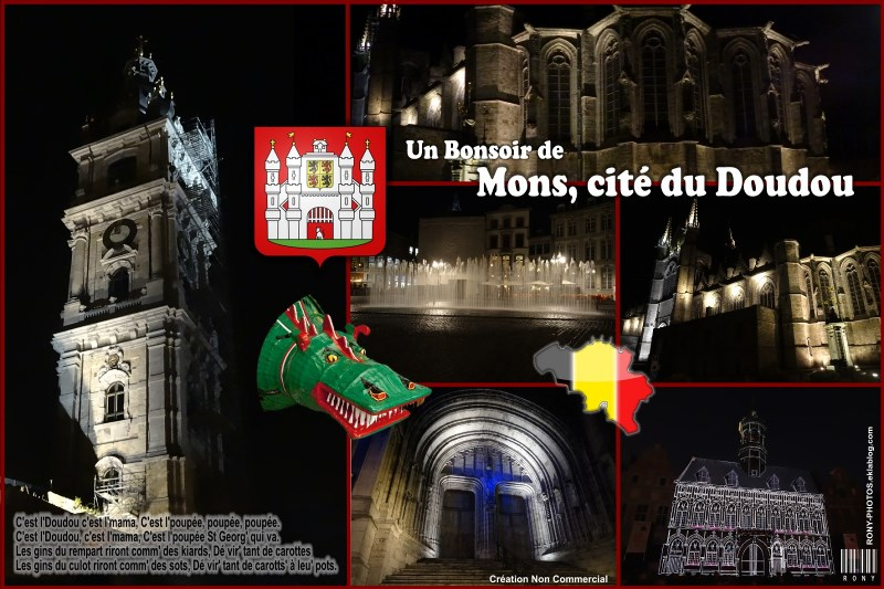 Mons by night