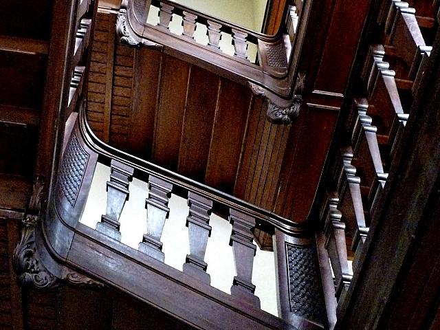 Escalier en bois 3 Marc de Metz 2011