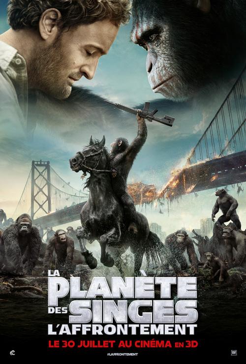 """Mon avis coup de coeur pour """"La planète des singes - L'affrontement"""" , juste sublime, à le louper sous aucun prétexte !"""