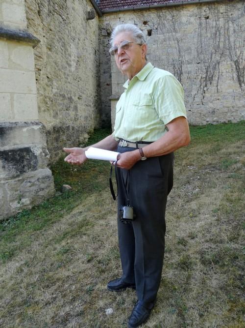 """Visite de l'église de Noiron, avec """"Un jour, une église"""""""