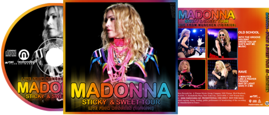 Madonna - Sticky & Sweet Tour in Munich