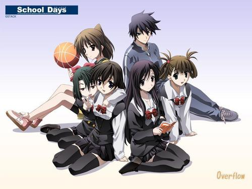 School Days - school-days Wallpaper
