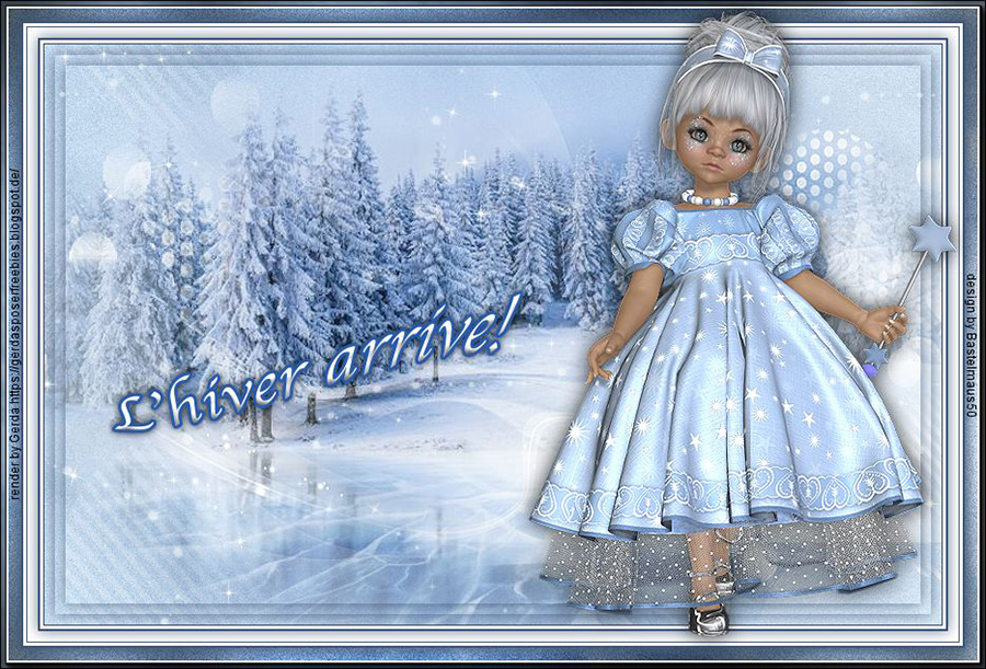 Vos versions L'hiver arrive! pg2