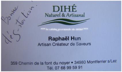 DIHÉ, Naturel & Artisanal