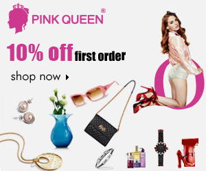 10% OFF for Sign Up at PinkQueen.com!