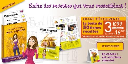 Les recettes d'Emma - Editions Atlas - Mars 2012