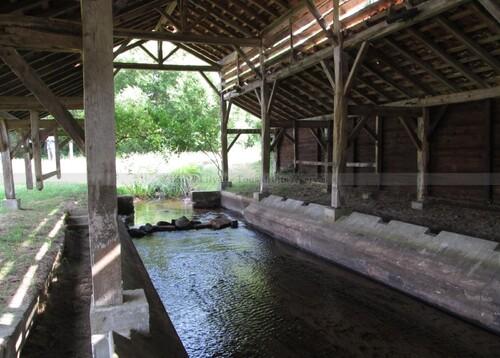La lavoir de Campardon à St Julien en Born