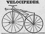 Une course Bône-Mondovi à vélocipède.