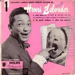 Henri Salvador, 1955 premier 45 tours