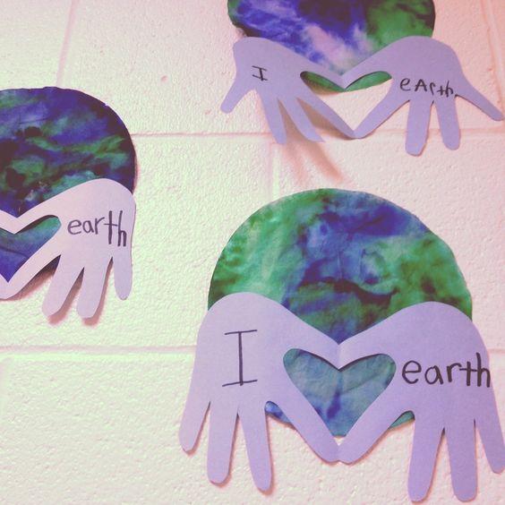 Idée Pinterest artistique : La notion de sauvegarde de la planète