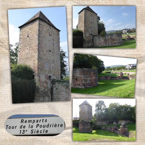 Escapade en Alsace 11 (fin) - Visite de Wissembourg