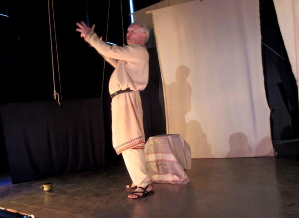 """Le spectacle de contes de Fabien Bages """"Le destin d'Albionix"""" nous a plongés délicieusement dans le pays de nos ancêtres les Gaulois"""