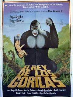 El rey de los gorilas. 1977.