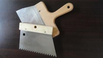 spatules à chocolat