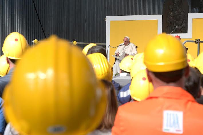 Monde du travail, Gênes © L'Osservatore Romano