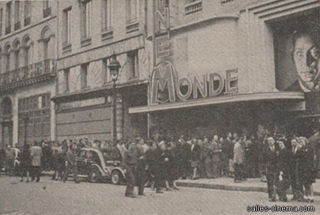 Box-office du Cinémonde-Opéra - 1942