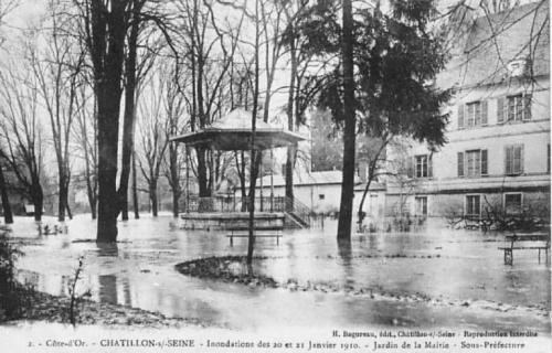 La crue de la Seine en janvier 2012