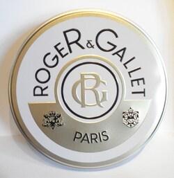 ROGER GALLET BOITE METAL