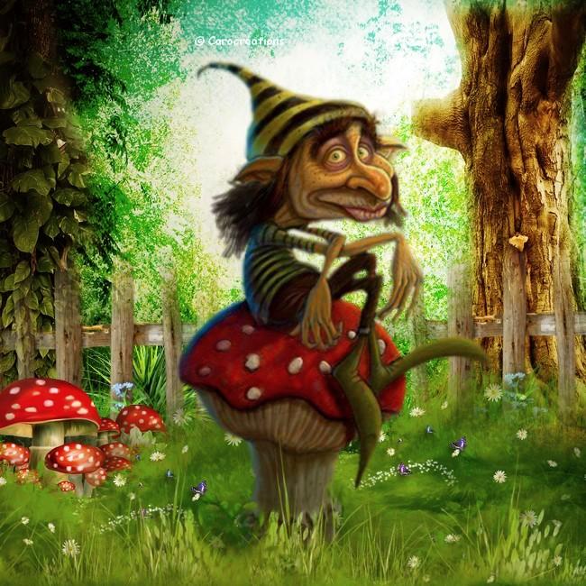 petit homme de la forêt