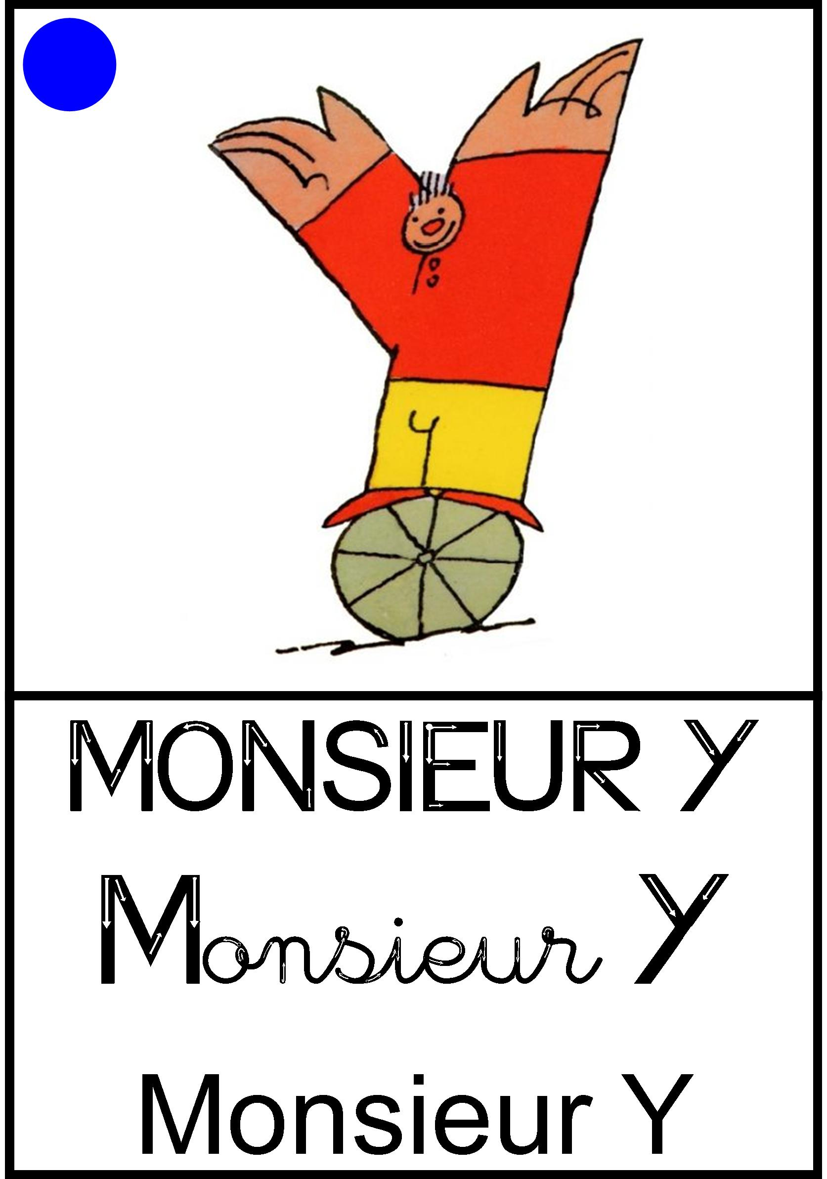 Affichage Monsieur Y