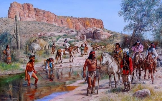 Coalition Between Mangas Colorado & Cochise