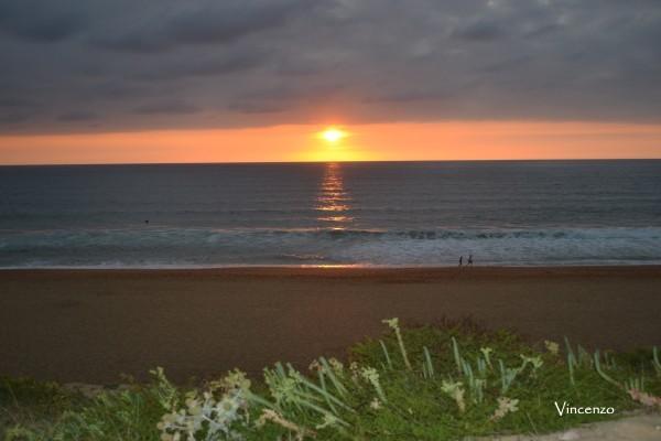 ONDRES coucher de soleil C