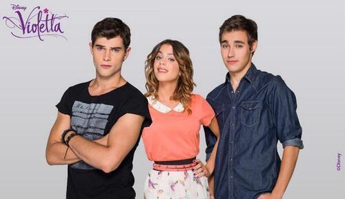 Violetta, Leon et Diego l'histoire d'amour