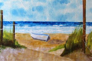 La plage abandonnée