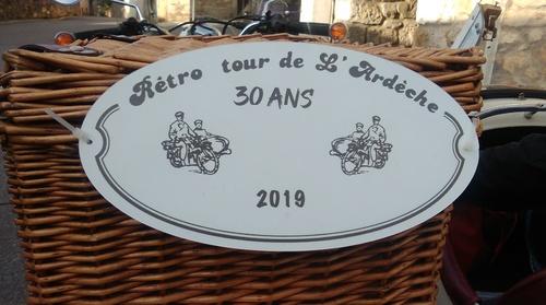 RETRO TOUR ARDECHE 2019