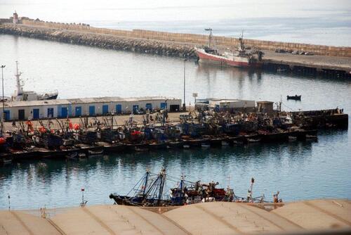 Port de pêche d'Agadir