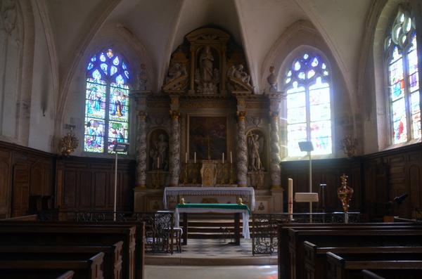 L'église et le cimetière de Belan-sur-Ource
