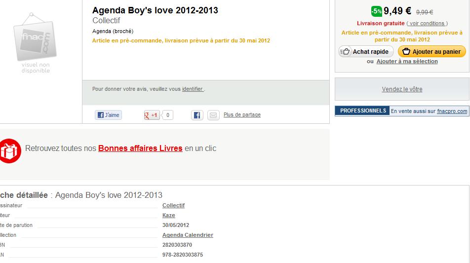 agenda boys love