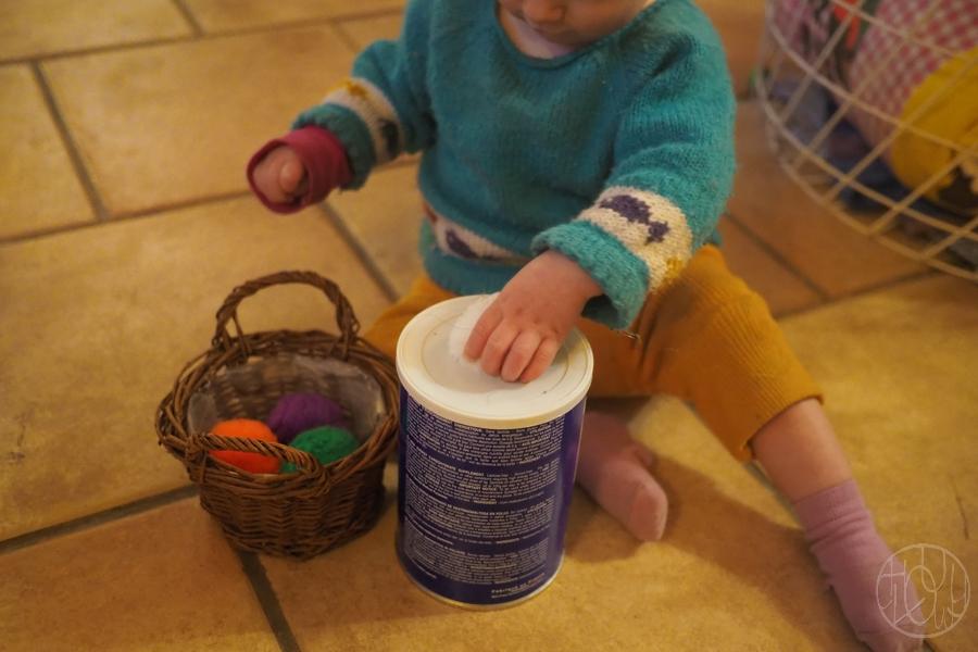 Une boite à formes facile à fabriquer pour les petits