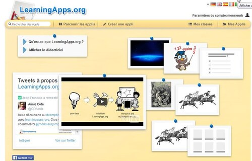 Applications d'apprentissage ( LearningApps )