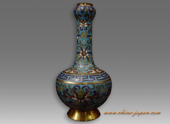 vase cloisonn chinois ancien oq47 jornalagora. Black Bedroom Furniture Sets. Home Design Ideas