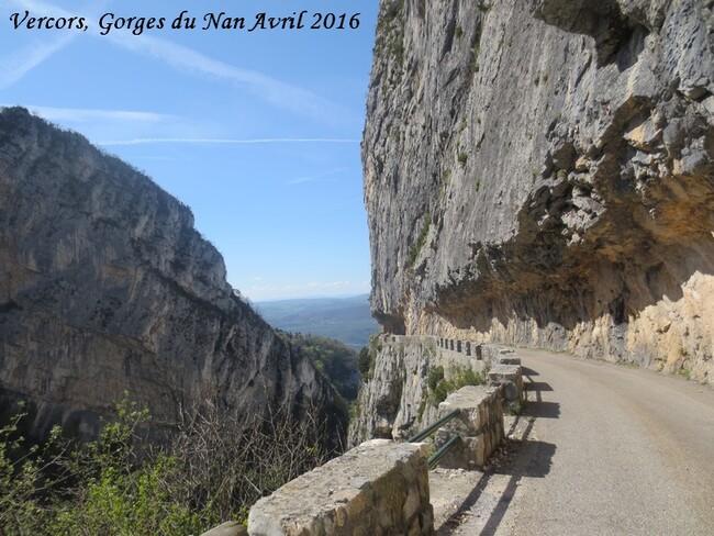 La montagne, février et avril 2016