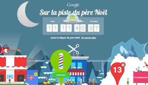 Ho Ho Ho ! Le village du père Noël est sur Google !